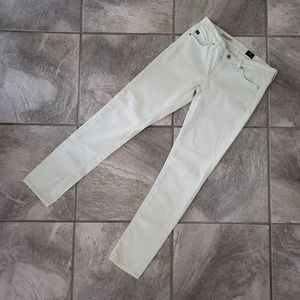 Adriano Goldschmied Mint Green Stevie Ankle Jeans